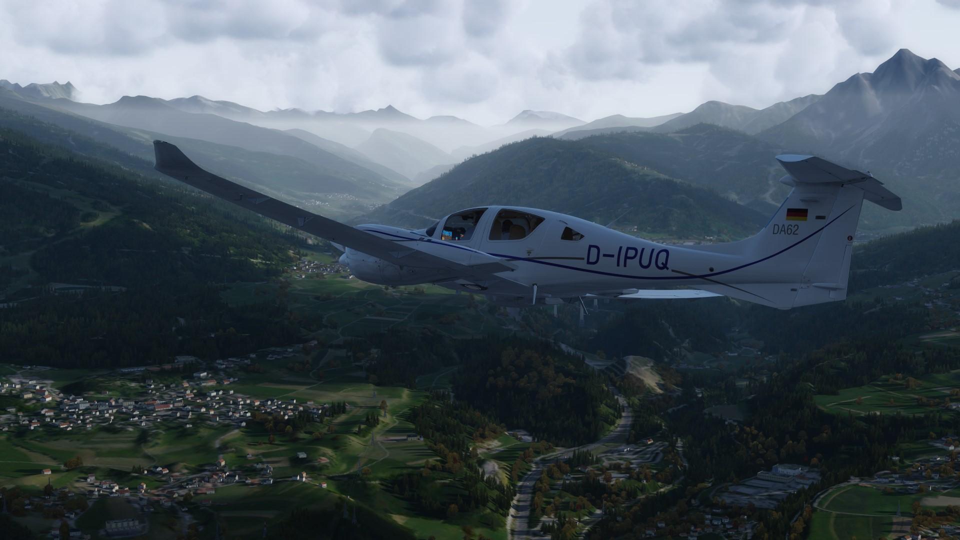 Carenado DA62 - Flugzeuge - VFR-Flightsimmer - Flusi info