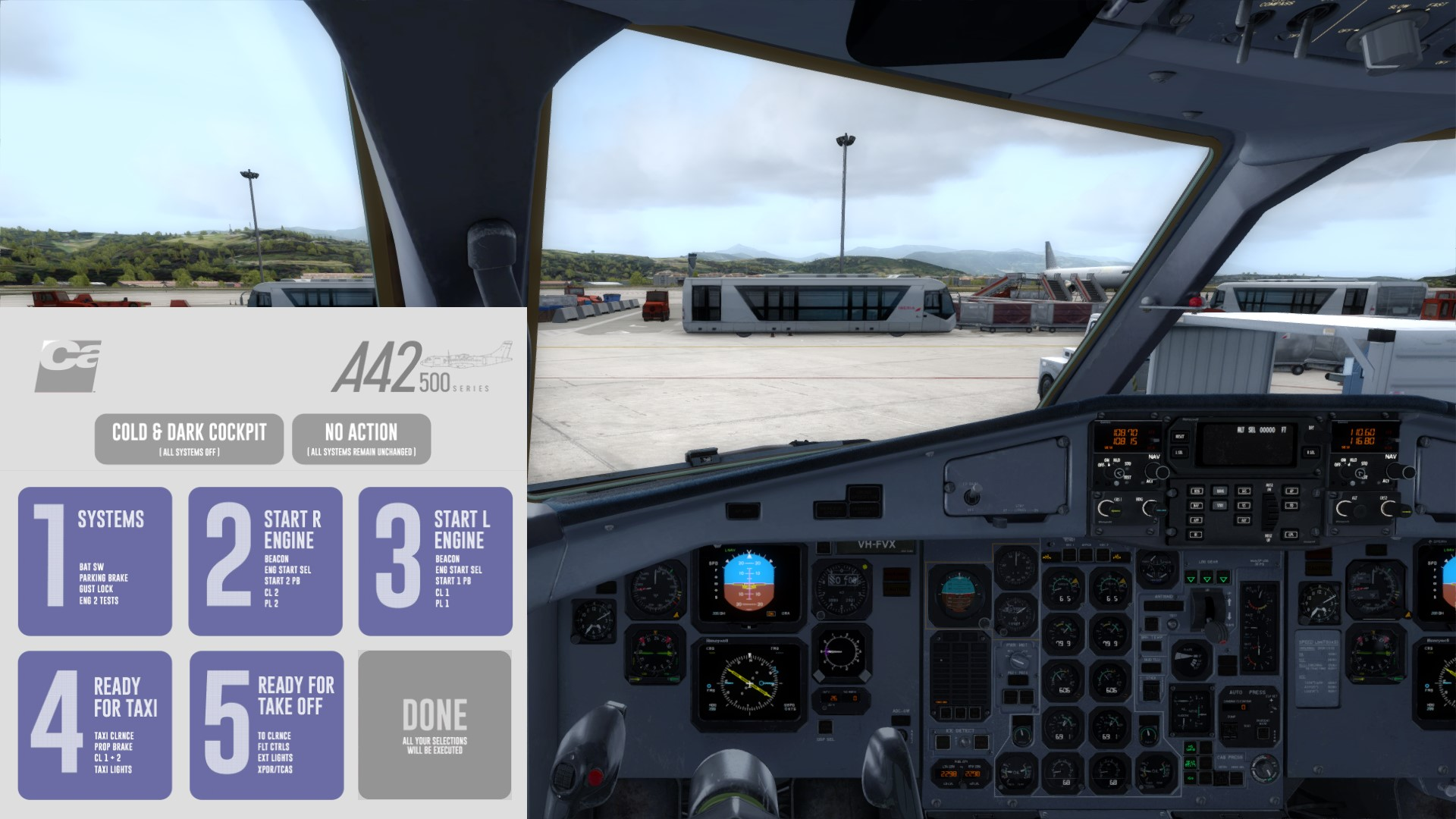 ATR 42-500 von Carenado für FSX/P3D erschienen - Flugzeuge - VFR
